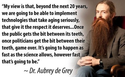 aubrey de grey quote